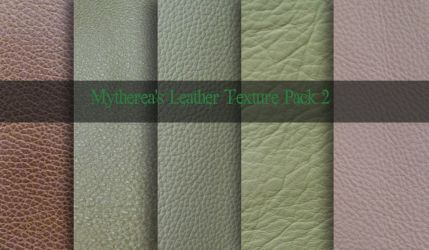 Leather Texture Pack 2 by Mytherea