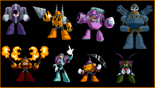 Robot Masters by Lordstevie