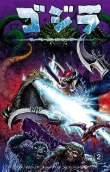 Godzilla Rulers of Earth 2 Japan Standard Cover by KaijuSamurai