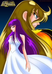 Athena and Shaka FULL by cdzdbzGOKU