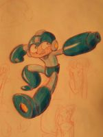 Mega Man by LaundryPile
