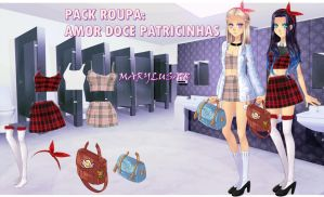 PACK- ROUPA AMOR DOCE patty by Marylusa18