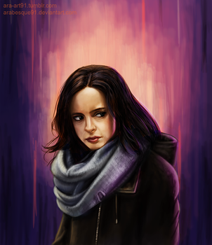 Jessica Jones by Arabesque91