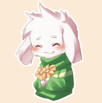 Asriel Gift by May-Itou