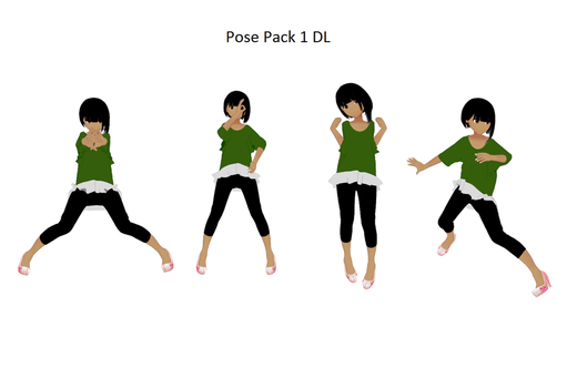 Pose Pack 1 by missmmd