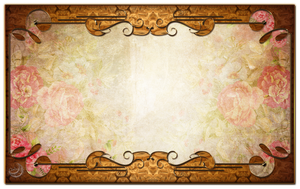 Vintage decor frame by Lyotta