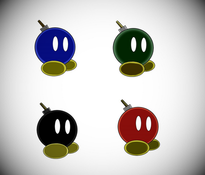 Bob-omb colors by miseri6