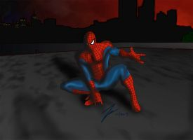 Spidey 2 by KevinG-art