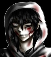 Jeff the killer- Just go to sleep by LouaSmourbif