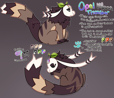 Opal Moon Trickster [OTA-Closed!] by goatlet