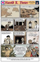 The Life n Times of Hal Foster by ginocollins