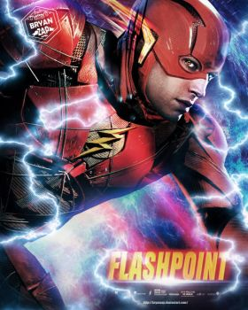 Flashpoint - Flash Poster by Bryanzap