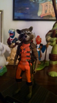 Hot Toys Rocket Raccoon and Friends by Phraggle