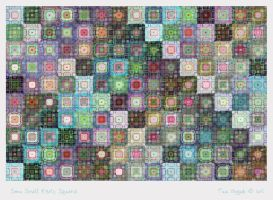 Some Exotic Small Squares by aartika-fractal-art