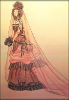 Native Steampunk Bride by KonekoChan101