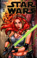 Mara Jade sketch cover by gb2k