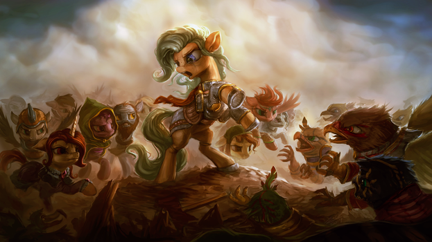 Rise and Fall of the Balk by AssasinMonkey
