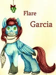 Flare Garcia by MistyIceAir