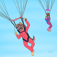 Dora the Skydiver by phallen1