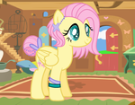 Future Fluttershy by theponygaming