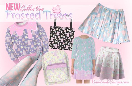 New Fairy Kei Clothing Collection: Frosted treats by ShyDaniLamb