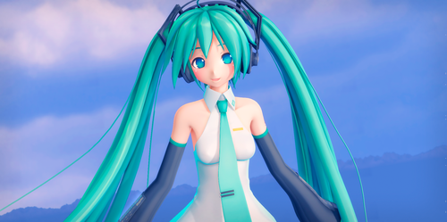 [MMD] The one and only, Miku-chan by DevilMMD