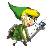 Toon Link and the Sword Sinatra by DrPingas