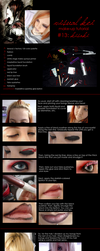 VK Tutorial 13 - Kisaki by drag-my-soul