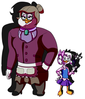 Webby and Mrs Beakley by Ophiel-Aglaophotis