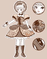 [CLOSED] Lolita Outfit Adopt: Dual Auction by OginZ