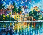 The Day The Rain Stopped by Leonid Afremov