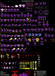 Full Power Shad - Sprite Sheet [Revamped] by IrregularSaturn