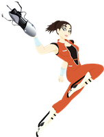 P2 - Chell Design by Clear-Elphaba94