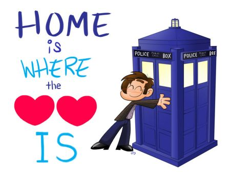Home is ... the TARDIS by Spectrumelf