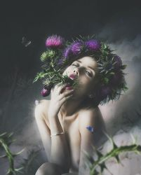 Thistle girl by Katie-Watersell