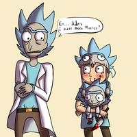 Fanboy Morty is adorable by LamentedMusings