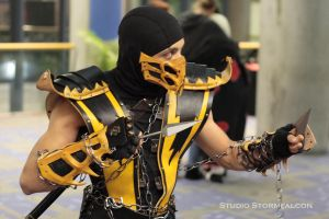 Scorpion Stalking FanimeCon by Stormfalcon