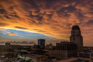 Storms over St. Pete by redwolf518
