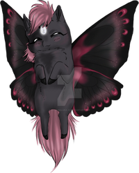 [LC]- Butterfly Rose by xX-LamiaLuna-Xx