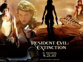 Resident Evil: Extiction Alice by Naids