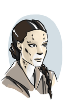 Padme as a Cathar by tushkanchic