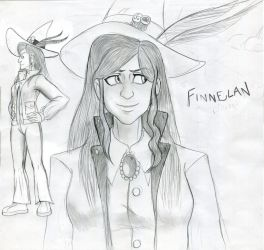 Little Witch Academia - Young Anne Finnelan by gamemasterNPX