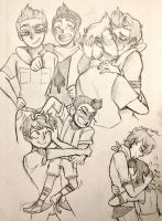 Camp Camp doodlies  by Rollinvale