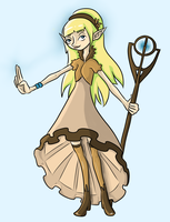 Elven mage by SirRaccoon