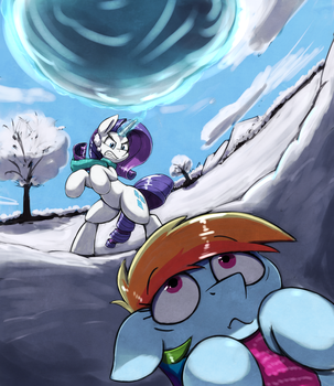 Snow Ball by otakuap