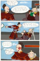 Zuko, Iroh, and Moby In Colour by z00tz00t