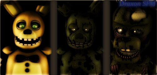 (SFM/FNAF) Before and After by DraxonSFM