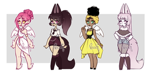 Mixed Adopts - CLOSED by PeachThePlum