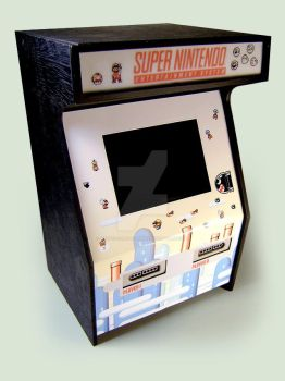 RCG Mini SNES Arcade Prototype - Super Mario Theme by RoseColoredGaming