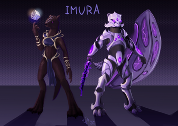 Imura and her Armor by Dalagar